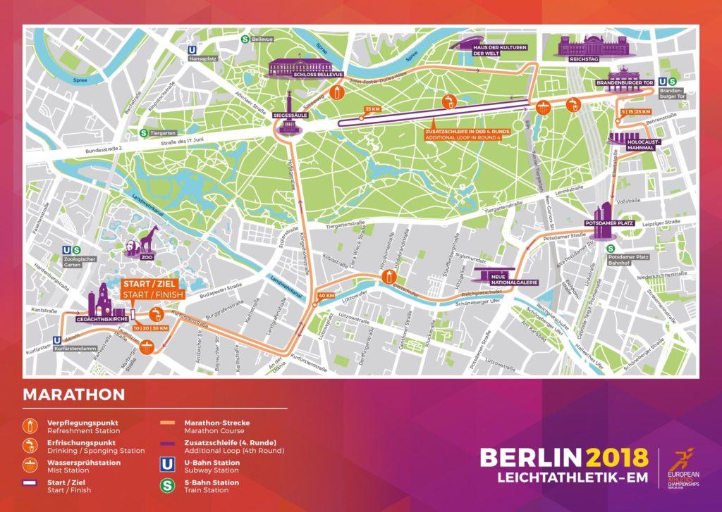 Parcours EK marathon 2018
